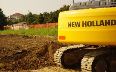 Il GreenVillage – Iniziati i lavori di scavo