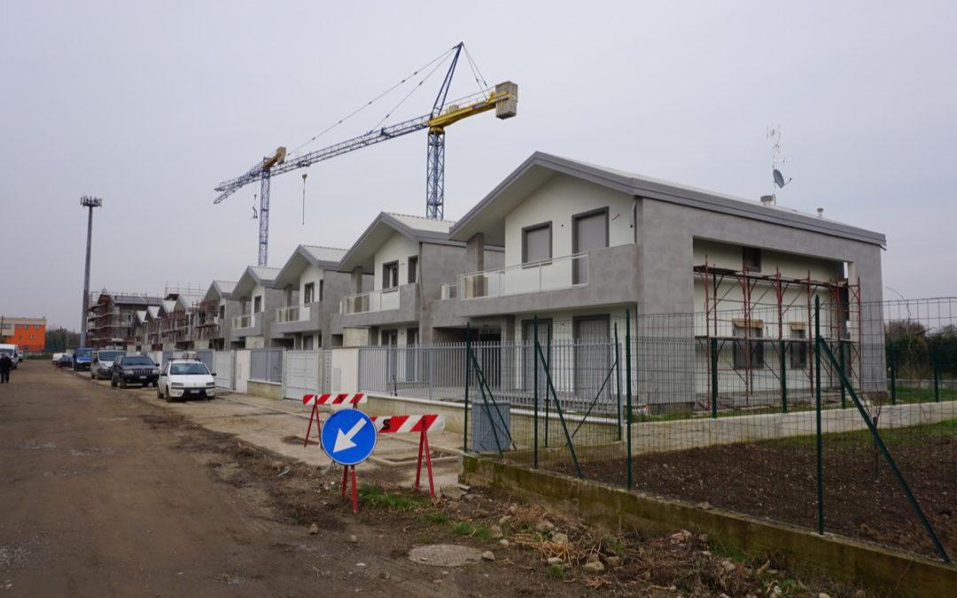 Il GreenVillage di Novate – quasi terminato il cantiere