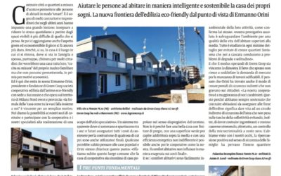 """Il GreenVillage su """"Osservatorio ABITARE"""""""
